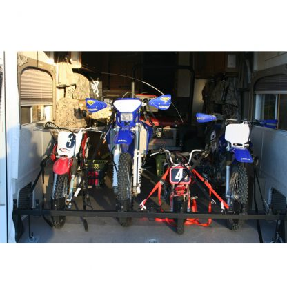 Fits all sizes of motorcycles for loading assistance