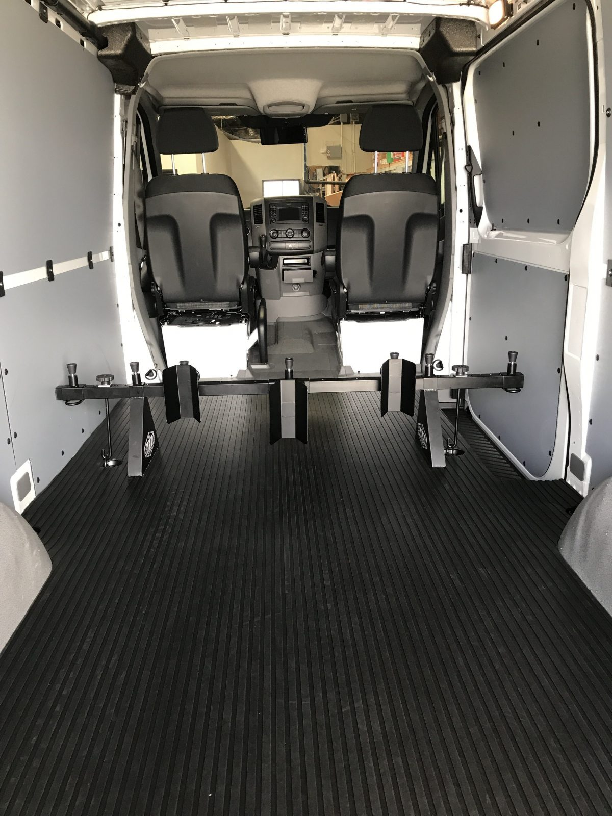 Mercedes Sprinter Van >> Mercedes Sprinter Van - Three Dirt Bike - Motorcycle Tie-Down Carrier Systems