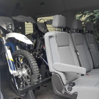 Ford Transit tie down system