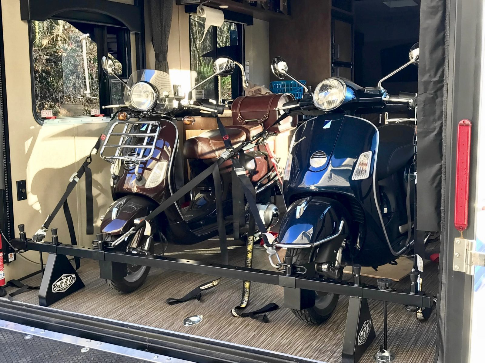 Motorcycle Carrier Rack Installations