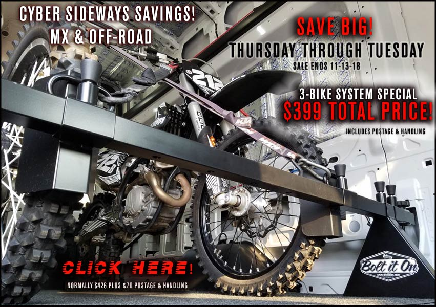 Black Friday Cyber Monday Motorcycle Deals