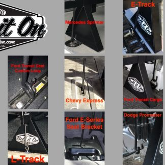 Bolt It On Motorcycle Carrrier System