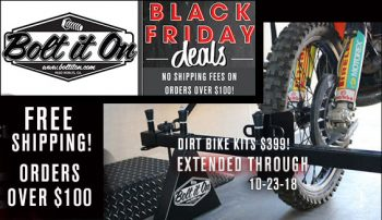 Black Friday Deals On Motorcycle Parts!