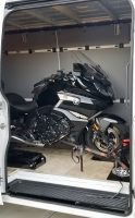 Street Bike Loaded in Sprinter