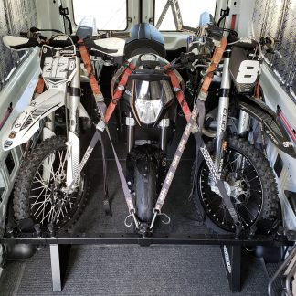3 Dirt Bikes in a Mercedes Sprinter