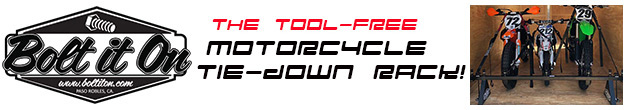 Motorcycle Carrier Tie-down Racks For Vans & Trailers