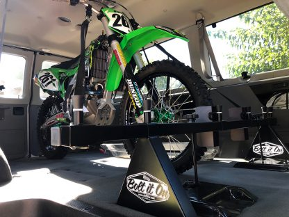 Ford E-conoline Motorcycle Rack